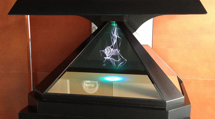How holographic display is used