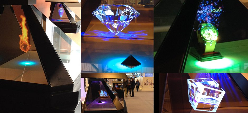 3d holographic displays